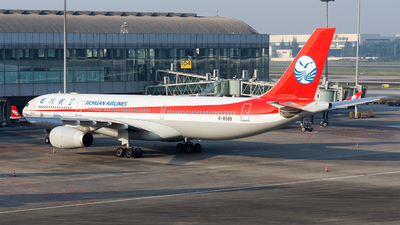 A picture of B8589 - Airbus A330343 - Sichuan Airlines - © Marcus Yu