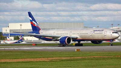 A picture of VQBFN - Boeing 777300(ER) - Aeroflot - © FlyPete