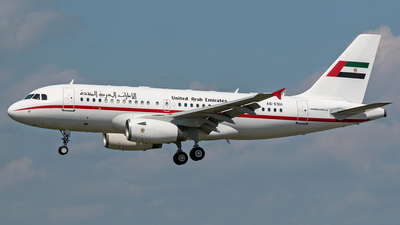 A6-ESH - Airbus A319-133X(CJ) - United Arab Emirates - Sharjah Ruler's Flight