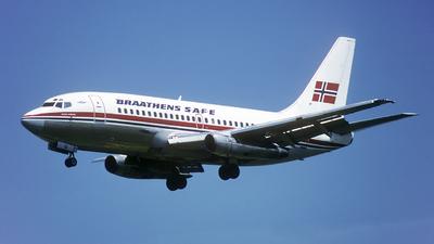LN-SUU - Boeing 737-205(Adv) - Braathens SAFE