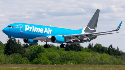 N543RL - Boeing 737-84P(BCF) - Amazon Prime Air (Sun Country Airlines)