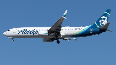 A picture of N292AK - Boeing 737990(ER) - Alaska Airlines - © Yixin Chen
