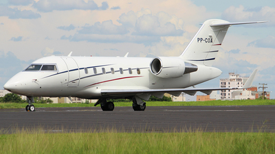 PP-COA - Bombardier CL-600-2B16 Challenger 605 - Private