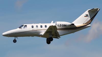 A picture of LZDIN - Cessna 525 CitationJet CJ1 -  - © n94504