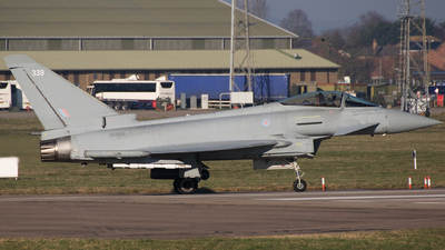 A picture of ZK339 - Eurofighter Typhoon FGR.4 -  - © Chris Andrew Barker