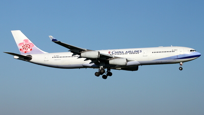 B-18801 - Airbus A340-313X - China Airlines