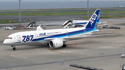 JA824A - Boeing 787-8 Dreamliner - All Nippon Airways (ANA)