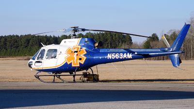 N563AM - Eurocopter AS 350B2 Ecureuil - Air Methods