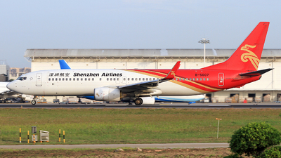 A picture of B5607 - Boeing 73787L - Shenzhen Airlines - © Egg_Shadowsine Aviation