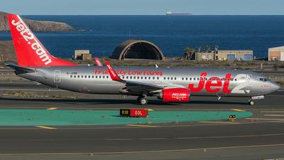 A picture of GJZBK - Boeing 7378MG - Jet2 - © Adolfo Bento de Urquía