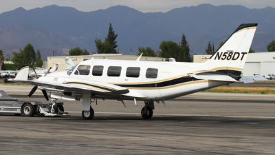 A picture of N58DT - Piper PA31350 - [318152035] - © C. v. Grinsven