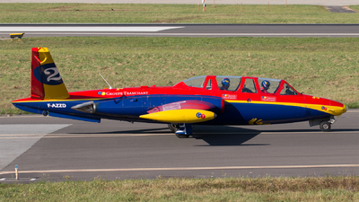 A picture of FAZZD - Fouga CM170 Magister - [411] - © Alban Painvin