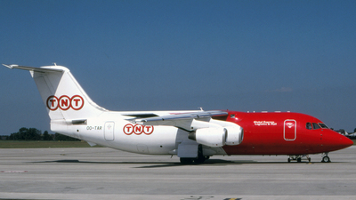 OO-TAR - British Aerospace BAe 146-200(QT) - TNT Airways