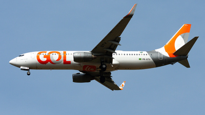 A picture of PRGTV - Boeing 7378EH - GOL Linhas Aereas - © CACSPOTTER