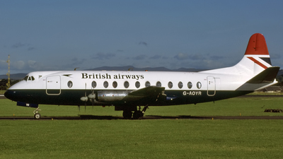 G-AOYR - Vickers Viscount 806 - British Airways