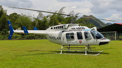 HK-4809 - Bell 206L-1 LongRanger II - Volar Colombia