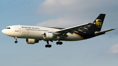 A picture of N151UP - Airbus A300F4622R - UPS Airlines - © John Newsome