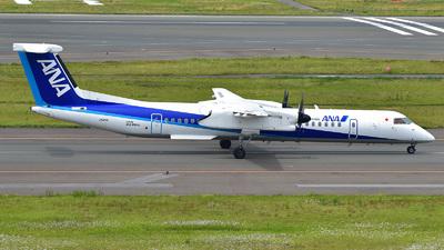 A picture of JA841A - De Havilland Canada Dash 8400 - All Nippon Airways - © 42 dono