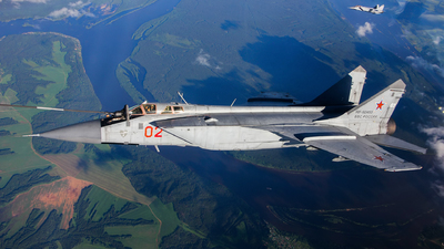 RF-92453 - Mikoyan-Gurevich MiG-31BM Foxhound - Russia - Air Force