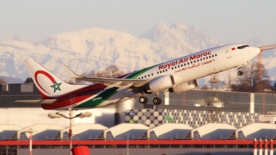 A picture of CNROU - Boeing 7378B6 - Royal Air Maroc - © AirBusAl