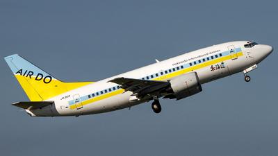 JA301K - Boeing 737-54K - Air Do (Hokkaido International Airlines)