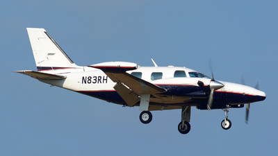 N83RH - Piper PA-31T Cheyenne II - Private