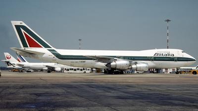 I-DEMF - Boeing 747-243B - Alitalia