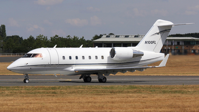 N100FL - Bombardier CL-600-2B16 Challenger 604 - Private