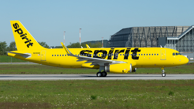 N696NK - Airbus A320-232 - Spirit Airlines