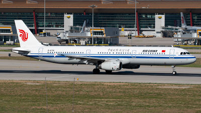 A picture of B6741 - Airbus A321232 - Air China - © 1219qiuda