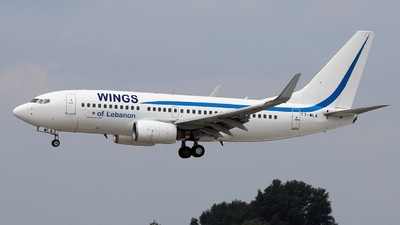 T7-WLA - Boeing 737-7K5 - Wings of Lebanon