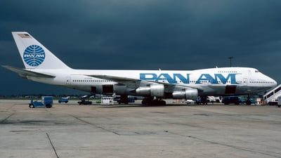 N747BK - Boeing 747-212B - Pan Am