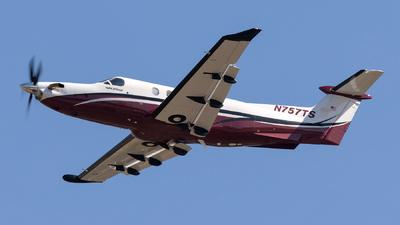 N757TS - Pilatus PC-12/47E - Private