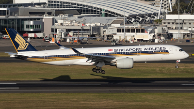 A picture of 9VSMT - Airbus A350941 - Singapore Airlines - © Ben Moy