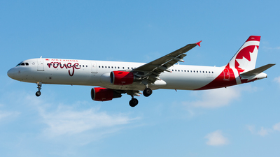 C-FYXF - Airbus A321-211 - Air Canada Rouge