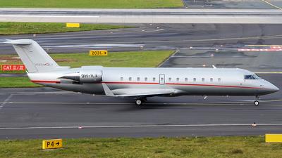9H-ILA - Bombardier CL-600-2B19 Challenger 850 - VistaJet