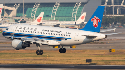 A picture of B6202 - Airbus A319112 - China Southern Airlines - © ZGGG RWY01