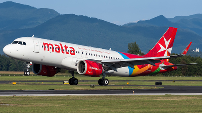 A picture of 9HNEB - Airbus A320251N - Air Malta - © Marco Papa