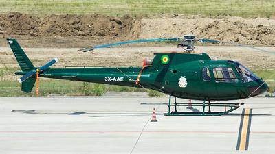 3X-AAE - Aérospatiale AS 350B Ecureuil - Guinea - Air Force