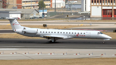 F-HFKE - Embraer ERJ-145LR - Fly Kiss