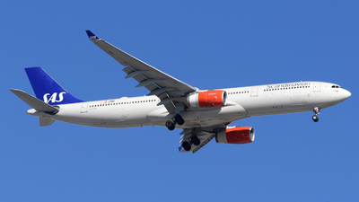 A picture of LNRKM - Airbus A330343 - SAS - © DJ Reed - OPShots Photo Team