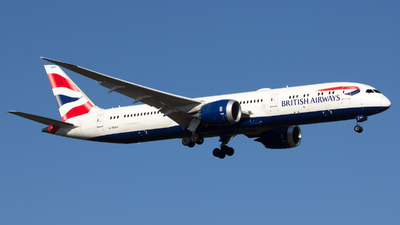 A picture of GZBKK - Boeing 7879 Dreamliner - British Airways - © Thomas Rosskopf