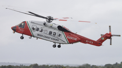 EI-ICA - Sikorsky S-92A Helibus - Ireland - Coast Guard