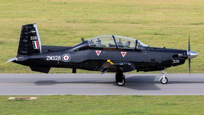 ZM328 - Raytheon T-6C Texan T1 - United Kingdom - Royal Air Force (RAF)
