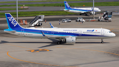A picture of JA151A - Airbus A321272N - All Nippon Airways - © Resupe