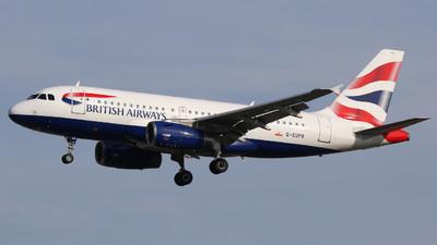 A picture of GEUPR - Airbus A319131 - British Airways - © Jan-Eike Berger