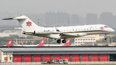 M-LLJB - Bombardier BD-700-1A10 Global 6000 - Zyb Lily Jet