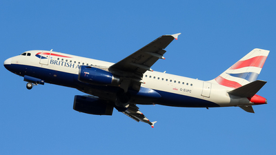 G-EUPC - Airbus A319-131 - British Airways