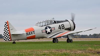 N48TT - North American SNJ-4 Texan - Private