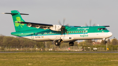 A picture of EIFAU - ATR 72600 - Stobart Air - © Kyle McKinlay